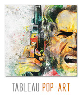 tableau decoratif pop-art