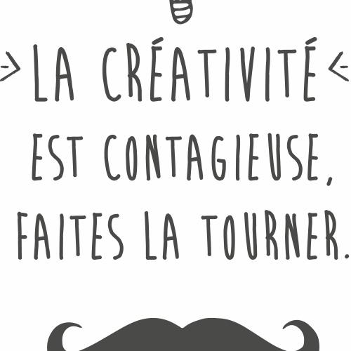 Super Stickers muraux citation Albert Einstein - Créativité JY66