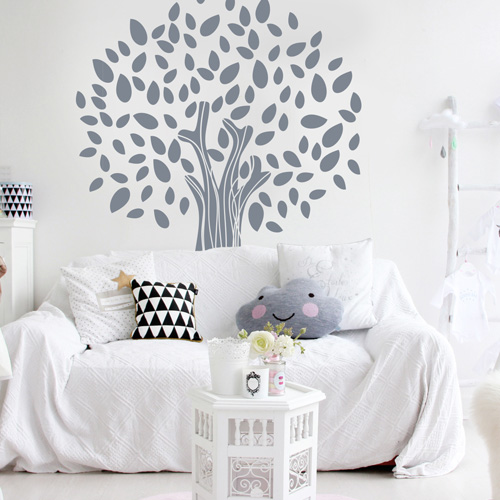 stickers muraux chambre enfant arbre magique. Black Bedroom Furniture Sets. Home Design Ideas