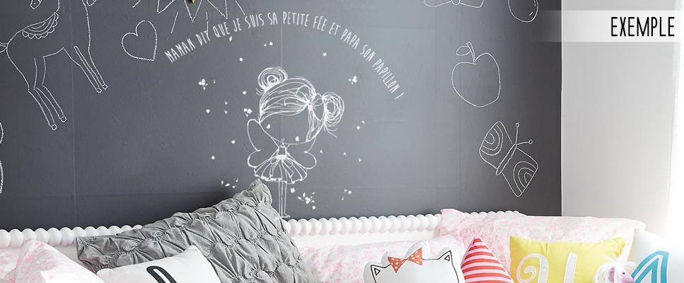 stickers muraux chambre fille la f e de maman le. Black Bedroom Furniture Sets. Home Design Ideas