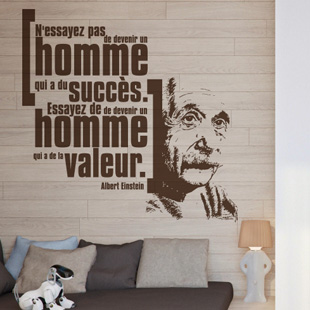 Devenir un homme - Albert Einstein