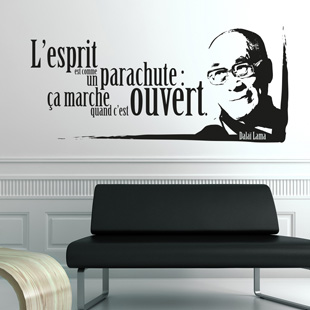 Stickers citation - Stickers muraux citations chambre ...