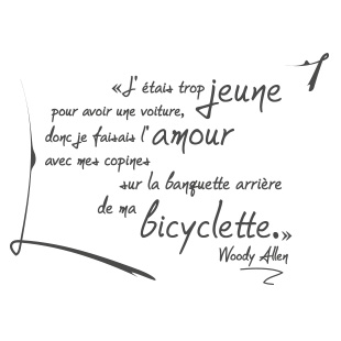Woody Allen - Ma bicyclette