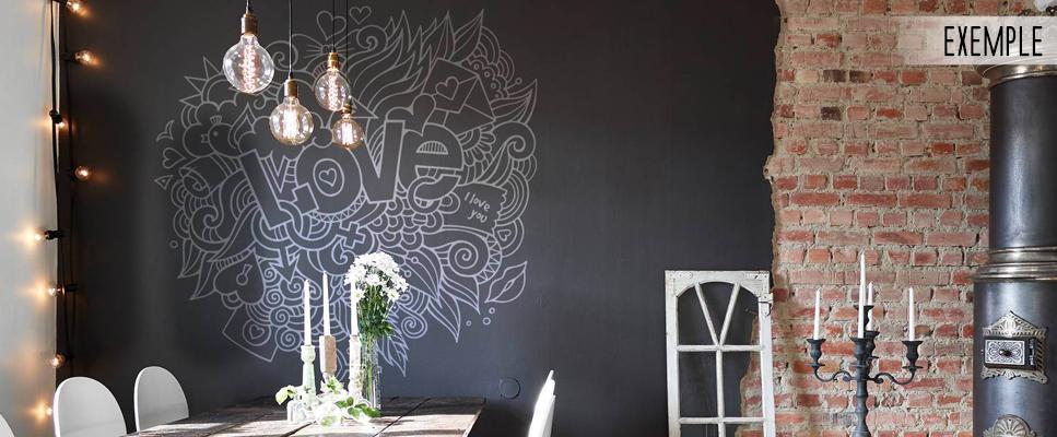stickers muraux nuage d 39 amour. Black Bedroom Furniture Sets. Home Design Ideas