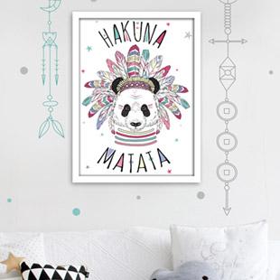 tableau décoration chambre fille