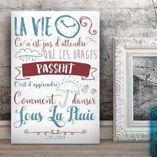 Tableau citation motivation