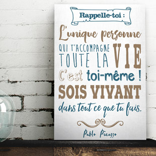 Tableau citation phrase positive
