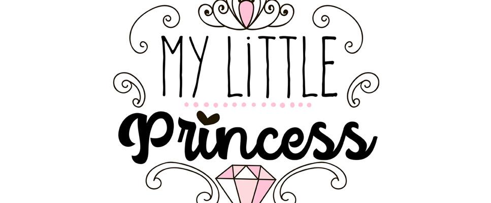 Tableau d co chambre fille ma petite princesse - Tableau chambre fille ...