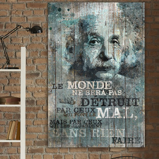 Citation Albert Einstein - Le monde