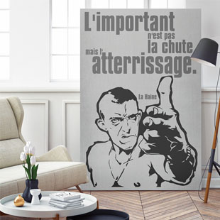 Tableau citation film la haine