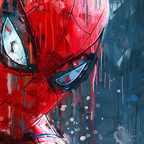 Tableau Déco Spiderman Comics Marvel