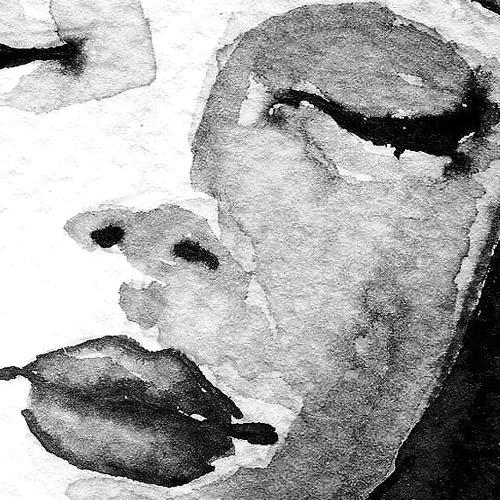 Tableau déco femme nue noir et blanc aquarelle 75819818fae1