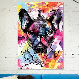décoration tableau pop art