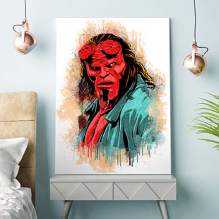 Hellboy Pop Art