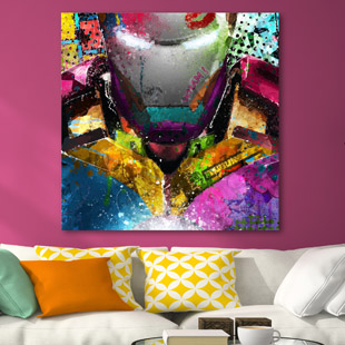 Iron Man pop-art