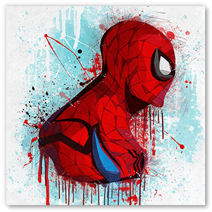 Spiderman Profil