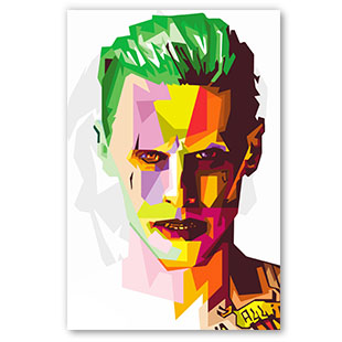 Joker Suicide Squad Pop Art